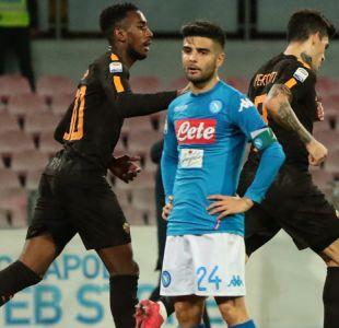 Napoli no puede ante la presión de Juventus y pierde en casa con Roma