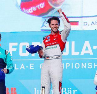El alemán Daniel Abt logra en México su primera victoria en la Fórmula E