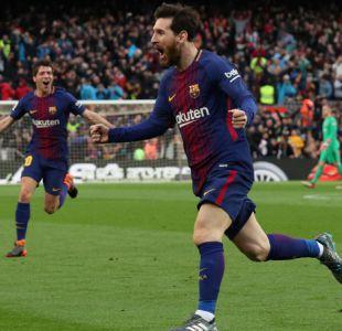 Lionel Messi encamina al Barcelona al título en triunfo sobre Atlético de Madrid