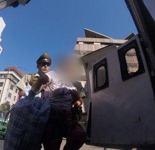[VIDEO] Sacan a vendedores ambulantes en la calle Luis Thayer Ojeda de Providencia