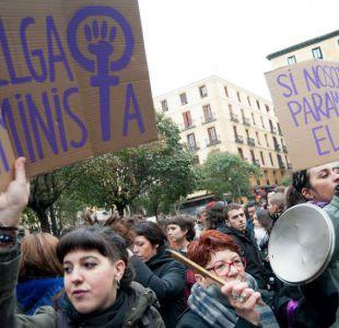 La masiva y sin precedentes protesta en España marca el Día Internacional de la Mujer