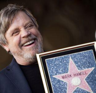 [FOTOS] Mark Hamill recibe estrella en el Paseo de la Fama de Hollywood