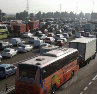 Accidente de buses interprovinciales genera gran congestión en Ruta 68