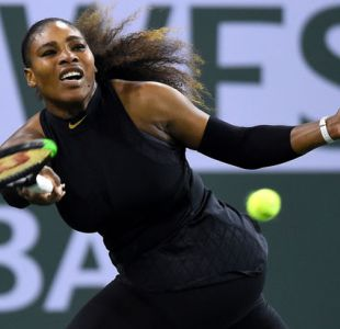 Serena Williams vuelve al circuito con debut triunfal en Indian Wells