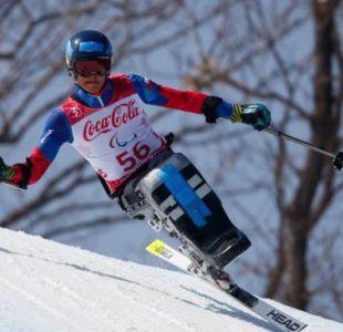 Chileno Nicolás Bisquertt sufre caída en el Súper Gigante de los Juegos Paralímpicos de Invierno