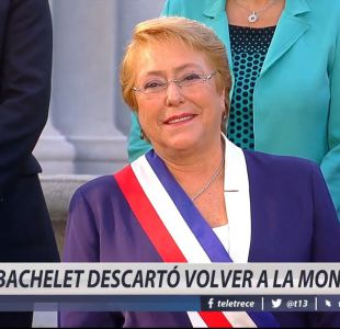 [VIDEO] La emotiva despedida de Bachelet