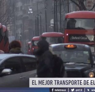 [VIDEO] Londres: El mejor transporte público de Europa