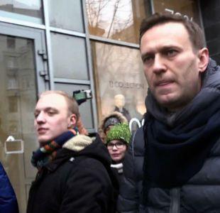 Detienen al principal líder opositor ruso en manifestación contra Putin