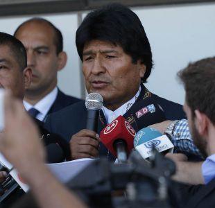 Evo Morales agradece apoyo a parlamentarios del Frente Amplio