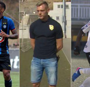 """[VIDEO] Los refuerzos """"exóticos"""" que han llegado al fútbol chileno"""