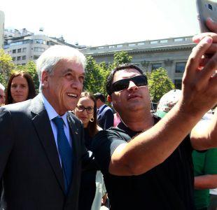 [VIDEO] El recorrido del Presidente Piñera por los rincones de La Moneda