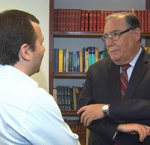 [VIDEO] Ex ministro Campos se defiende: Que muestren el decreto