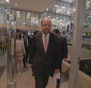 [VIDEO] De líder de los empresarios a ministro: Así fue el primer día de Alfredo Moreno