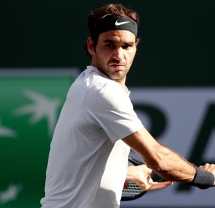 Roger Federer sigue intratable en Indian Wells y se instala en cuartos de final