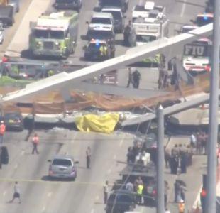 Ingeniero advirtió de agrietamiento en puente de Miami antes de que colapsara