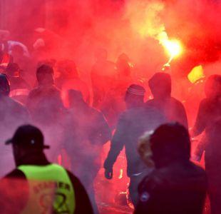 Más violencia en la Europa League: 10 agentes heridos por disturbios en Francia y España