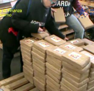 [VIDEO] Droga en Italia: 300 kilos de cocaína provenían de Chile