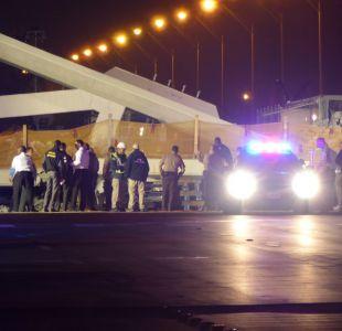 [VIDEO] Registran momento del colapso de puente peatonal en Miami