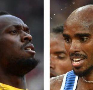 Dos figuras del atletismo mundial se verán las caras en una cancha de fútbol