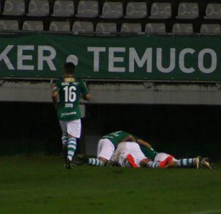Deportes Temuco corta la racha de Palestino y cosecha su primer triunfo en el Campeonato