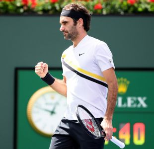 Federer renace de sus cenizas ante Coric y pasa a la final de Indian Wells