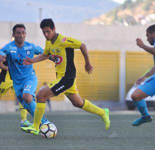 San Luis de Quillota y Deportes Iquique no se hacen daño en el Lucio Fariña