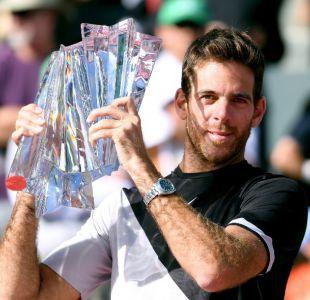 Del Potro está de vuelta: Supera a Roger Federer y se consagra en Indian Wells