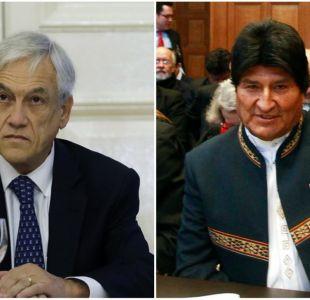 Piñera y Evo Morales se enfrentaron en Twitter