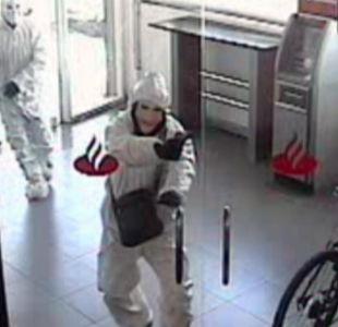[VIDEO] Ex frentista murió mientras asaltaba un banco en Talca
