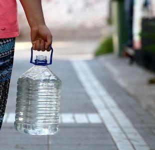 Anuncian corte de agua potable para este jueves en el centro de Santiago
