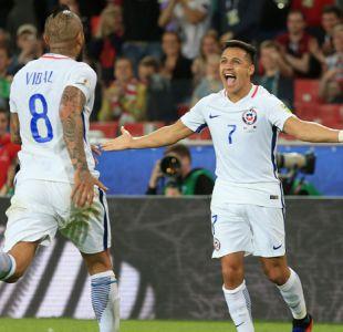 """[VIDEO] Alexis se suma a su """"familia"""" en la selección y Vidal celebra: """"¡Ahora sí estamos todos!"""""""