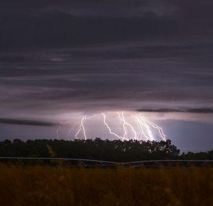 Dirección Meteorológica emite aviso por tormentas eléctricas en el norte y el sur del país