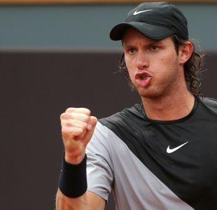 Nicolás Jarry se instaló en octavos de final en el dobles de Roland Garros