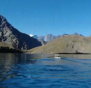 [VIDEO] Inédita preparación de remeras Abraham en la Cordillera de Los Andes