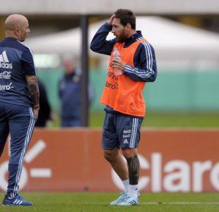 Messi es duda para el amistoso frente a Italia y Lo Celso es candidato para reemplazarlo