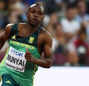 [VIDEO] Tiembla récord de Bolt: Clarence Munyai, la esperanza del atletismo sudafricano