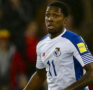 Cooper juega su primer partido desde que llegó a la U en derrota de Panamá ante Dinamarca