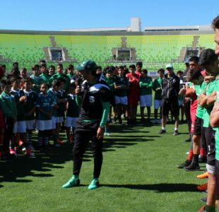 """Villarroel en su emotiva recepción en Wanderers: """"Volveremos al pedestal donde debiésemos estar"""