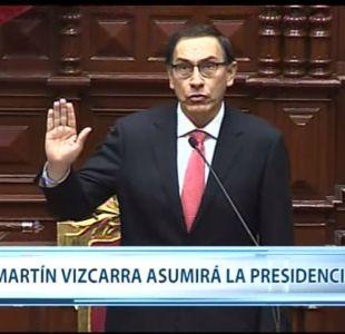 [VIDEO] Vizcarra asume como nuevo presidente de Perú