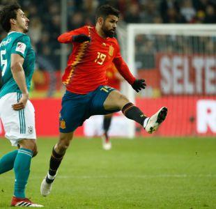 España y Alemania empatan en partido amistoso previo al Mundial de Rusia 2018