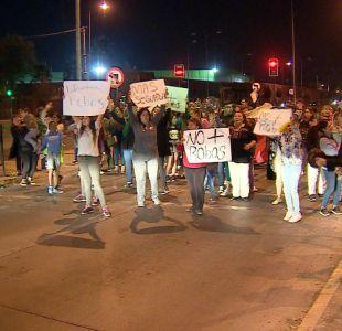 [VIDEO] Vecinos de Pedro Aguirre Cerda se suman a las protestas antidelincuencia