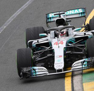 """Fórmula 1: Hamilton se lleva la """"pole position"""" en Australia y Bottas es sancionado"""
