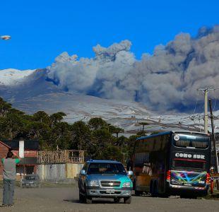 Se declara alerta amarilla en Alto Biobío por actividad del volcán Copahue