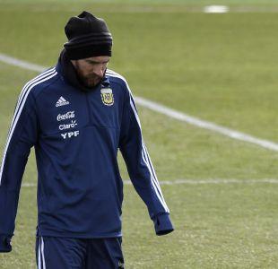¿Lo arriesgan? Messi jugaría ante España pese a las molestias musculares