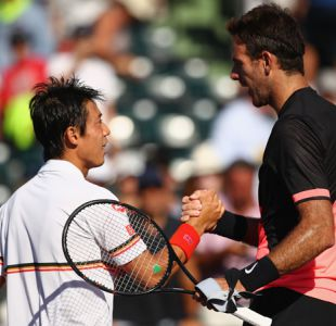 Del Potro arrolla a Nishikori y Venus Williams sigue con paso firme en Miami