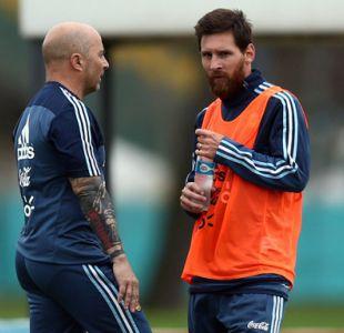Lionel Messi vuelve a ser duda a horas del partido contra España