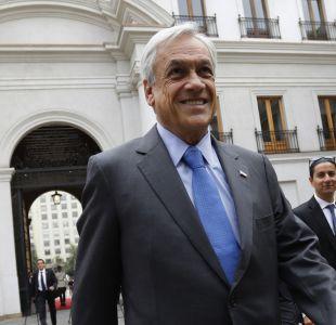 Piñera y ausencia de Insulza en Comisión de Seguridad: Parece que su partido no le dio permiso
