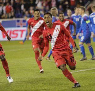 Perú brilla ante Islandia y suma 12 partidos sin perder