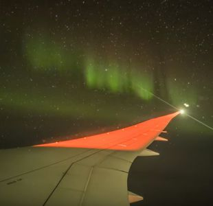 [VIDEO] Así es viajar a través de una aurora boreal