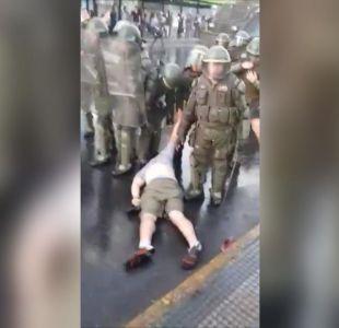 [VIDEO] Investigan violenta detención en marcha contra fallo del TC